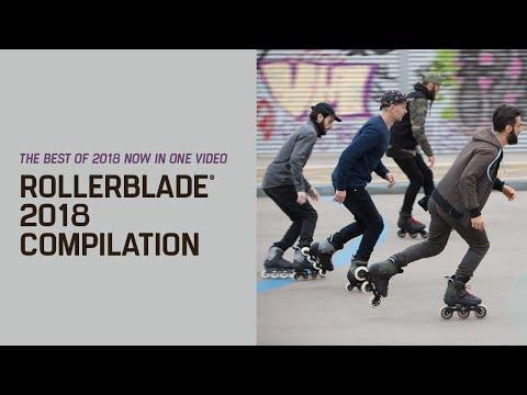 Video ROLLERBLADE Roller vitness MACROBLADE 110 3WD 2018 Noir Rouge