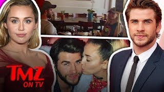 Miley Cyrus and Liam Hemsworth Are A Power Duo At Lunch | TMZ TV