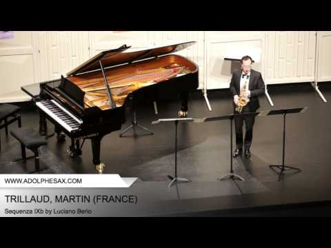 Dinant 2014 - Trillaud; Martin - Sequenza IXb by Luciano Berio