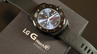 LG G Watch R: Unboxing & Overview