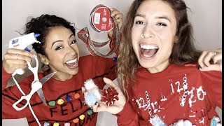 MAKING UGLY SWEATERS!! w/ Liza Koshy
