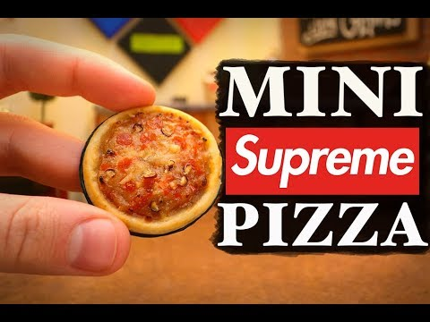 MINI SUPREME PIZZA!