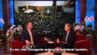 [Legendado - HD] Ansel Elgort no Ellen DeGeneres (14.05)