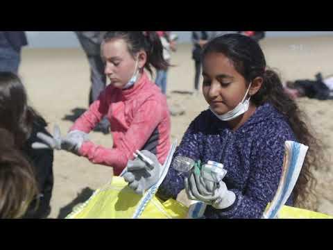 Des chantiers citoyens pour de bons comportements sur les plages