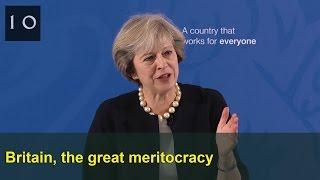 Britain, the great meritocracy: Prime Minister's speech