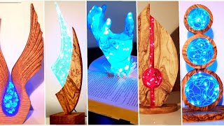 5 Most Amazing Epoxy Resin Lamps / Resin Art / part 3