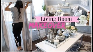 LIVING ROOM MAKEOVER / JASMINMAKEUP1