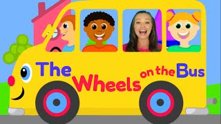 The Wheels on the Bus - Nursery Rhymes for Children, Kids and Toddlers