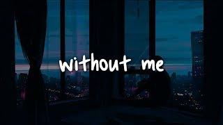 halsey - without me // lyrics