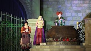 Hocus Pocus Villain Spelltacular Full Show | Mickey's Not-So-Scary Halloween Party 2015