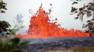 Kilauea volcano lava cuts off key escape route in Hawaii, man injured