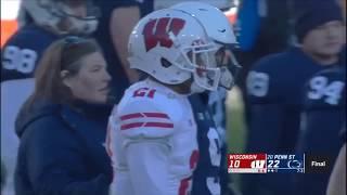 Wisconsin vs Penn State Football Highlights (2018)