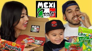 Mexican Candy Mukbang from MEXICRATE