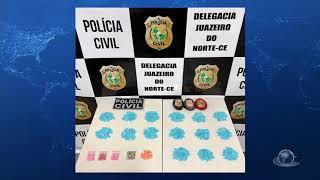 Polícia realiza a maior apreensão de drogas sintéticas da história do Cariri   Jornal da Cidade
