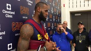 LeBron James admits preseason injury put him behind schedule | ESPN
