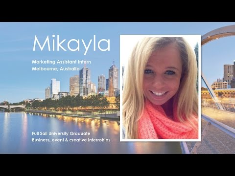 Mikayla: AAG Business Intern in Australia