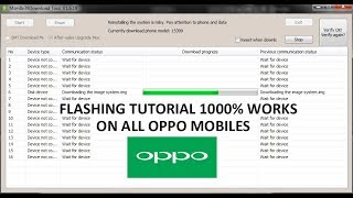 TUTORIAL Open DownloadTool & MsmDownloadTool Oppo Ofp File