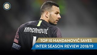 TOP 10 HANDANOVIC SAVES | INTER SEASON REVIEW 2018/19 🔝✋🏻⚫🔵