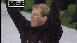 Football: Apple Cup WSU vs UW, 11/28/00