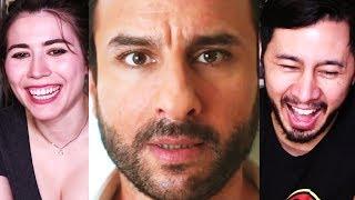 KAALAKAANDI   Saif Ali Khan   Trailer Reaction w/ Sesh!
