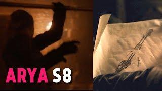 Arya Stark's new Weapon (Game of Thrones S8x01)
