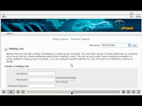 How to Video: Mailing Lists
