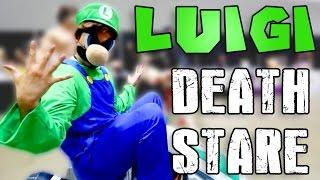 Luigi Death Stare @ Anime Expo 2014
