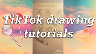 TikTok drawing tutorials - Compilation