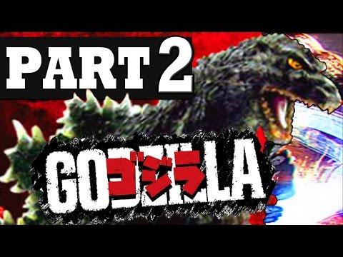 GODZILLA Walkthrough Part 2 Gameplay Lets Playthrough [HD] PS3 PS4