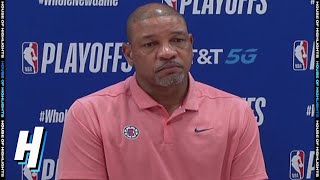 Doc Rivers Postgame Interview - Game 7 | Nuggets vs Clippers | September 15, 2020 NBA Playoffs