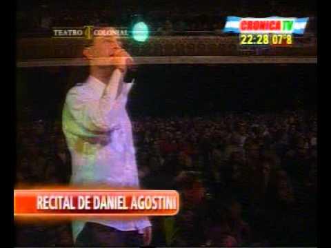 Daniel Agostini en el Teatro Colonial.