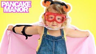 SUPERHERO SONG ♫ | Imagination & Fun | Kids Songs | Pancake Manor