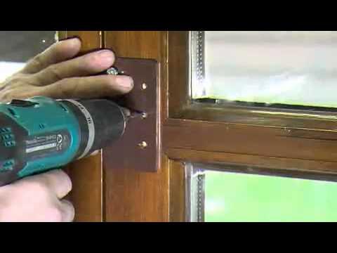 einbruchschutz f r fenster u t ren lka sicherheit huber systeme egglkofen sicherung youtube. Black Bedroom Furniture Sets. Home Design Ideas