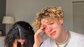we broke up... | Andrea & Lewis