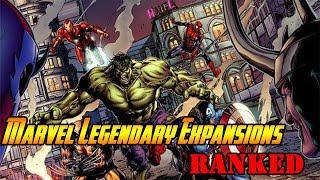 Marvel Legendary Expansions Ranked!