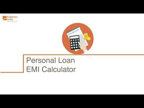Personal Loan EMI Calculator | Online EMI Calculator for Personal Loan by Fullerton India