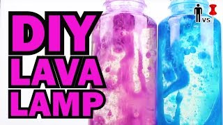 DIY LAVA LAMP - CORINNE VS PIN - Pinterest Test #9