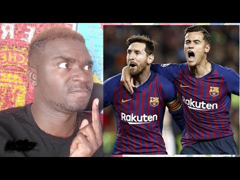 Glory Messi ! Barcelone - Manchester Utd 3-0/Ronaldo OUT ! Juventus -Ajax 1-2  débrief champions