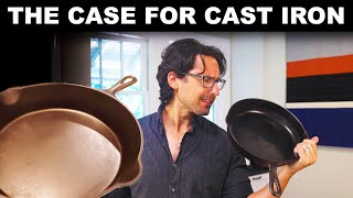 Why people love cast iron pans (and why I'm on the fence)