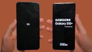 Xiaomi Mi 9 vs Samsung Galaxy S10+ Speed Test, Cameras & Speakers!