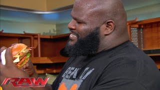 Hardee's, Carl's Jr.  and Mark Henry help JBL and El Torito settle a delicious dispute: Raw, Novembe