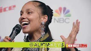 Alicia Keys Speaks on Winning The Voice Season 12 as a Coach