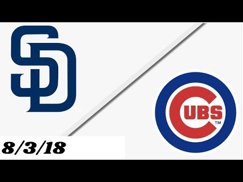 San Diego Padres vs Chicago Cubs | Full Game Highlights