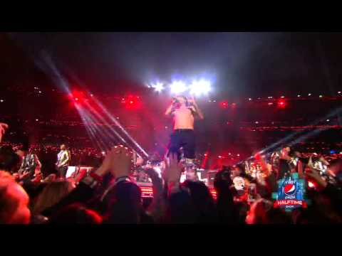 Red Hot Chili Peppers & Bruno Mars - Give It Away LIVE SUPER BOWL HALFTIME SHOW 2014
