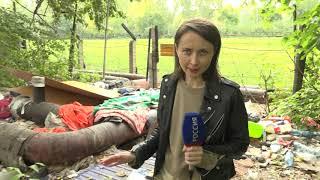 В Омске сразу несколько многоэтажек оказались в заложниках у бездомных