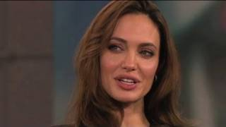 """Angelina Jolie Talks """"Crazy"""" Family Dinners and Cooking With Brad Pitt"""