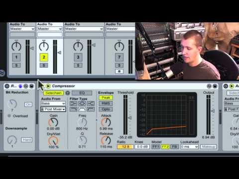 Tracks Interact 1: Ableton Live Sidechain compression