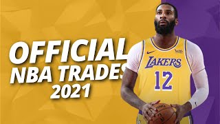 All Official NBA Trades Of 2021 Season - NBA Trade Deadline 2021 Recap