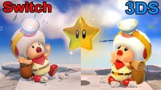 Captain Toad Treasure Tracker - Nintendo Switch vs. 3DS Comparison