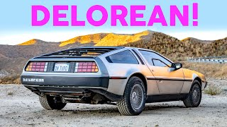 DeLorean DMC-12 - The Stainless Steel Nostalgia King